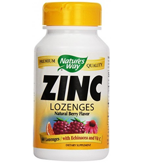 [Nature`S Way] Natural Remedies Zinc Lozenges