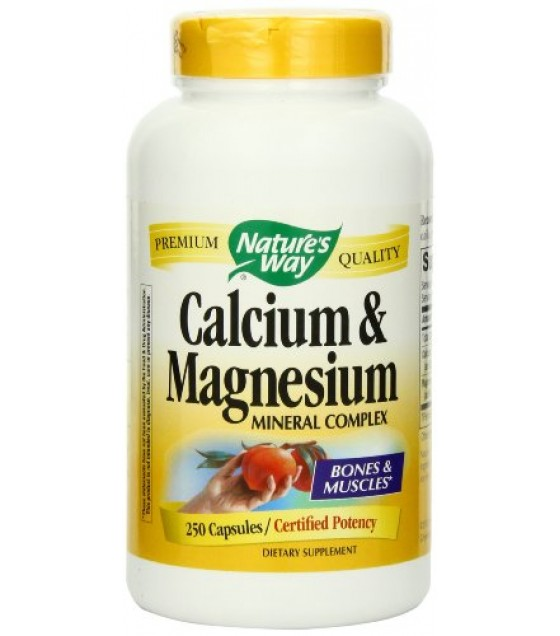[Nature`S Way] Calcium Calcium & Magnesium