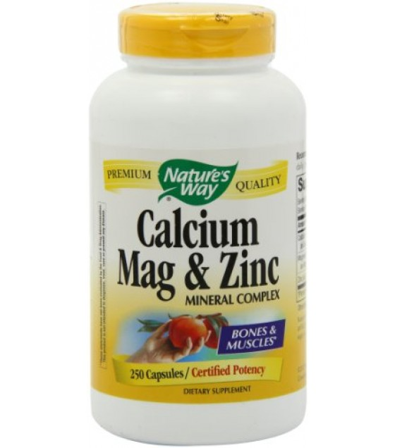 [Nature`S Way]  Calcium Mag & Zinc