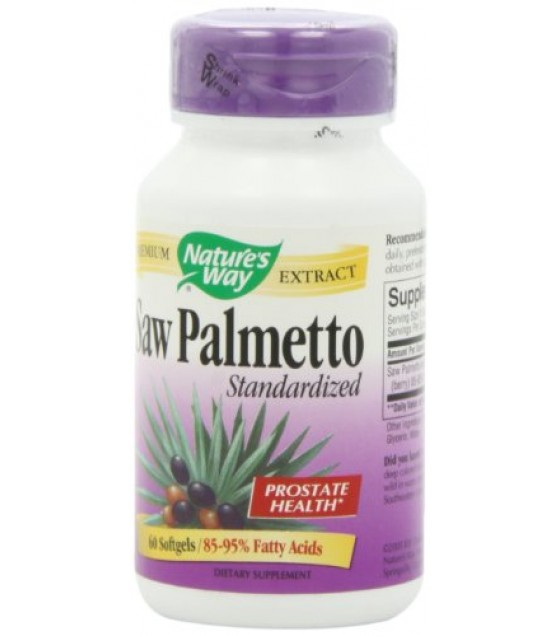 [Nature`S Way] Standardized Herbs Saw Palmetto