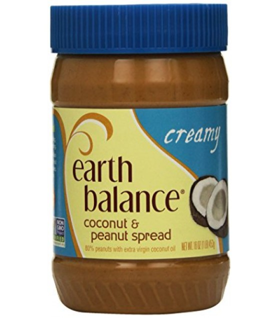 [Earth Balance] Nut Butters Coconut, Creamy