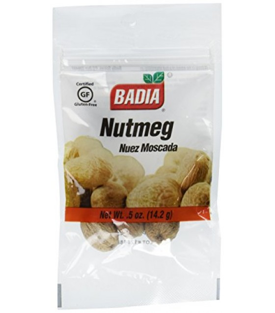 [Badia Spices]  Nutmeg, Whole