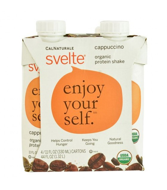 [Svelte] Protein Shakes Enjoy Yourself, Cappuccino  At least 95% Organic