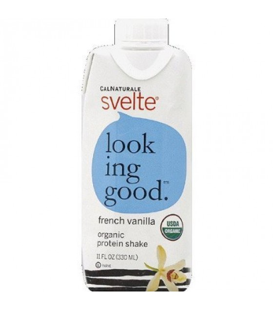 [Svelte] Protein Shakes Looking Good, French Vanilla  At least 95% Organic