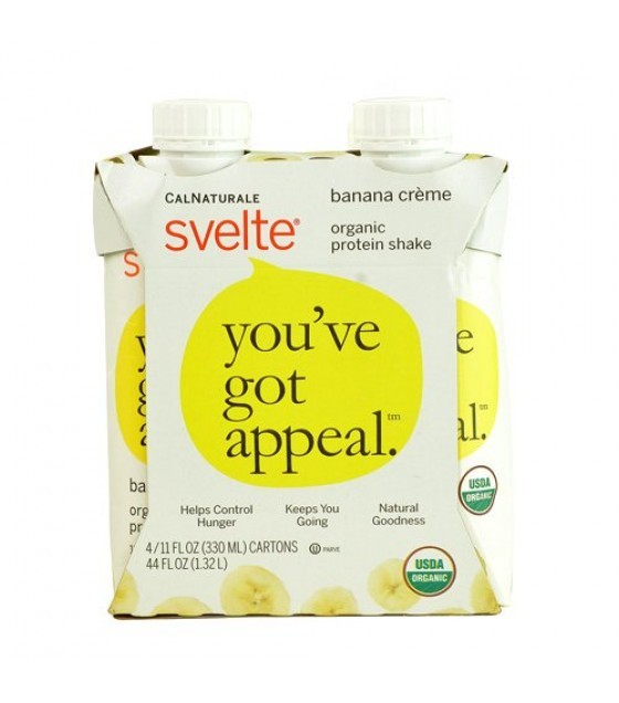 [Svelte] Protein Shakes Banana Creme  At least 95% Organic