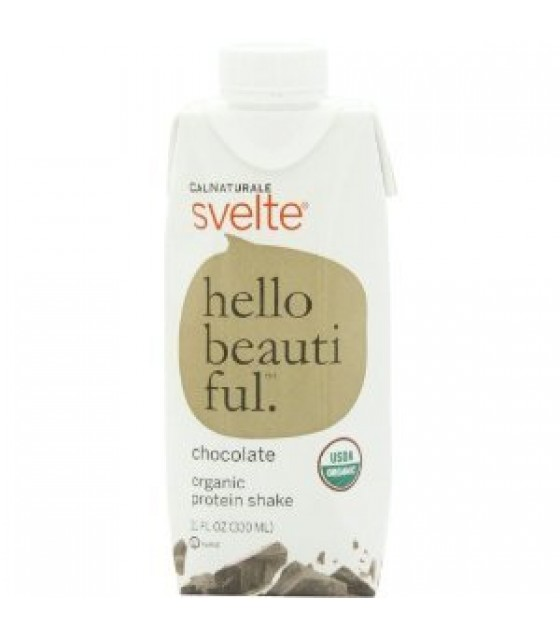 [Svelte] Protein Shakes Hello Beautiful, Chocolate  At least 95% Organic