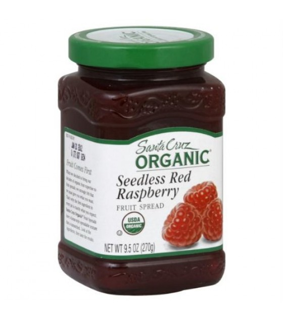 [Santa Cruz Organic] Fruit Spread Seedless Red Raspberry  At least 95% Organic