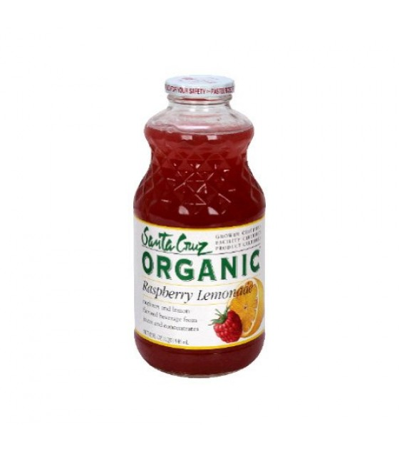 [Santa Cruz Organic] Organic Lemonades Raspberry Lemonade  At least 95% Organic