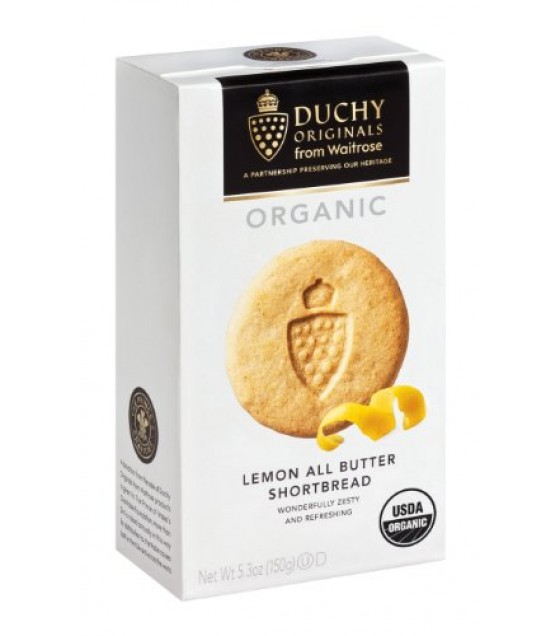 [Duchy Originals] Shortbread Cookies Lemon, All Butter  At least 95% Organic