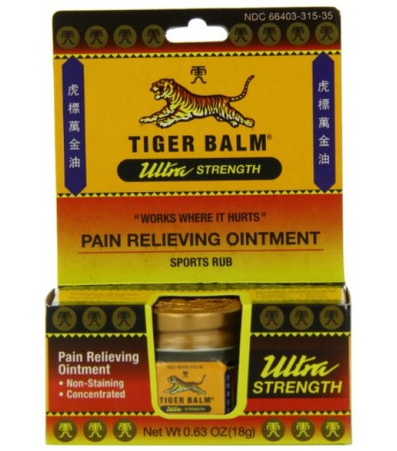 [Tiger Balm] Pain Relieving Products Ultra Strength, Non Staining