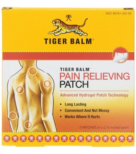 [Tiger Balm] Pain Relieving Products Patch Warm