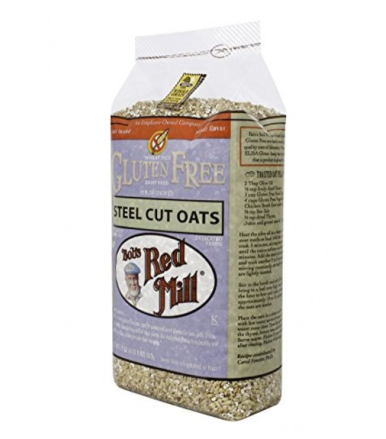 [Bob`S Red Mill] Gluten Free Items Oats, Steel Cut, Whole Grain