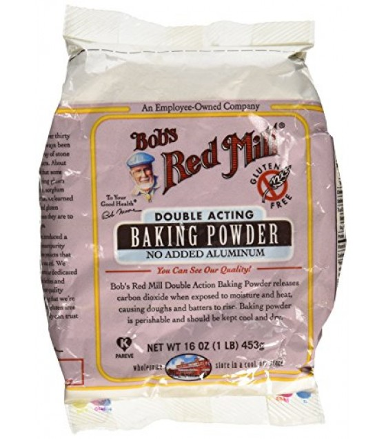 [Bob`S Red Mill] Flour & Baking Products Baking Powder, No Aluminum