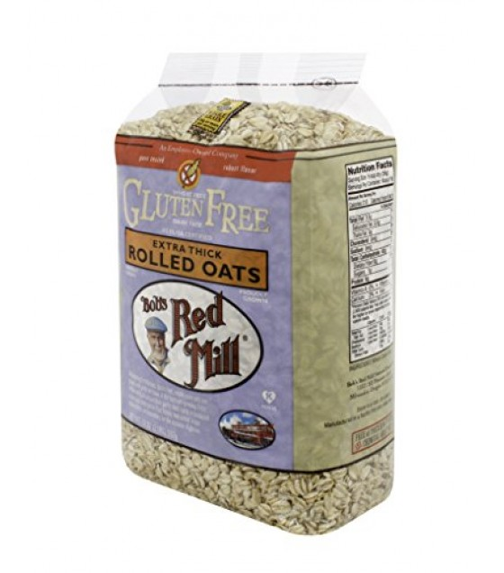 [Bob`S Red Mill] Gluten Free Items Rolled Oats, Extra Thick