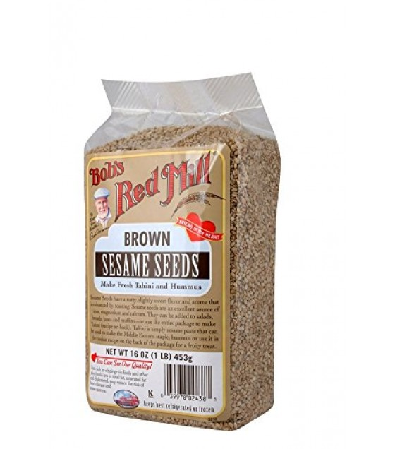 [Bob`S Red Mill] Miscellaneous Sesame Seeds, Nat Brown, Hulled