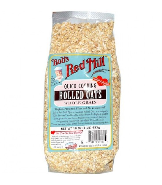 [Bob`S Red Mill]  Oats, Quick Rolled