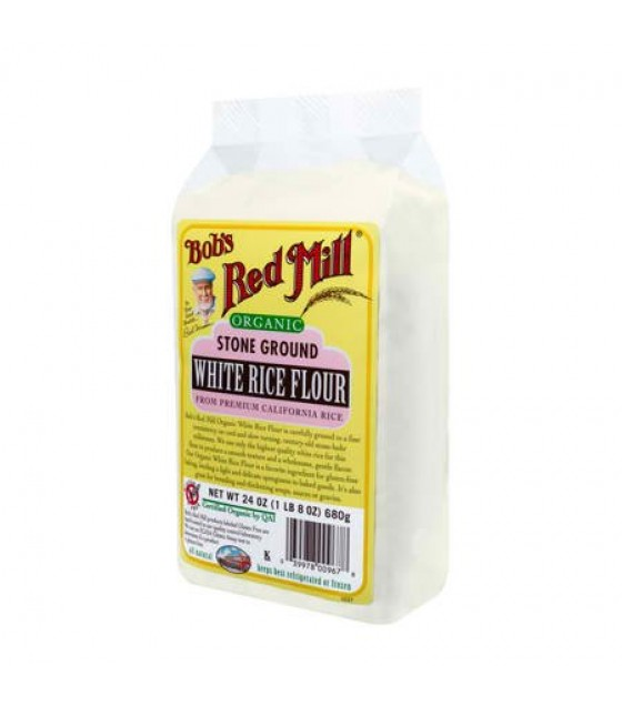 [Bob`S Red Mill] Flour & Baking Products Rice Flour White  At least 95% Organic