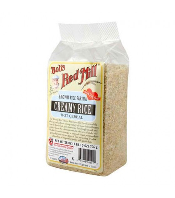 [Bob`S Red Mill] Flour & Baking Products Creamy Brown Rice Farina  At least 95% Organic
