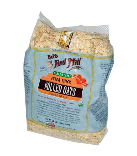 [Bob`S Red Mill]  Rolled Oats, Thick Bulk  At least 95% Organic