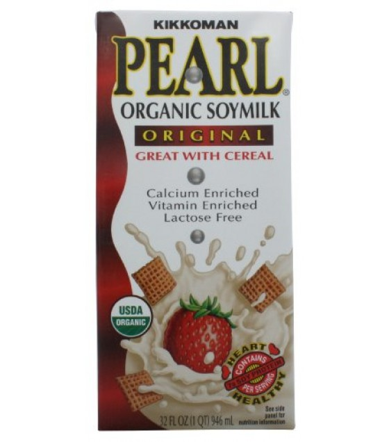 [Kikkoman International Inc] Pearl Soy Milk Original  At least 95% Organic