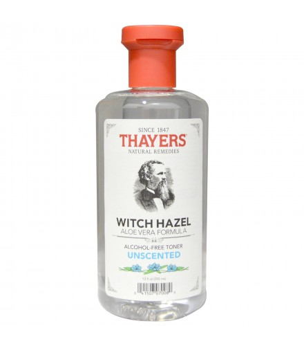 [Thayer`S] Witch Hazel Products Unscented w/Aloe, Alcohol Free