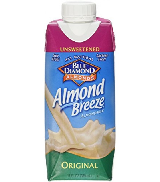 [Almond Breeze] Almond Milk, Non Dairy Beverage Original, Unsweetened