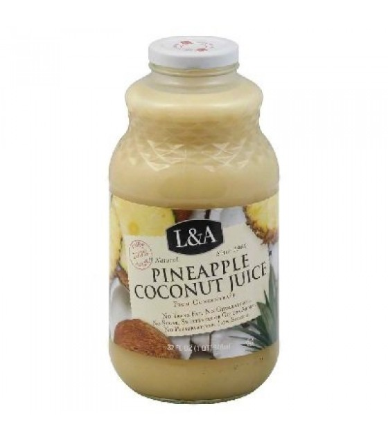 [L & A Juice]  Pineapple Coconut