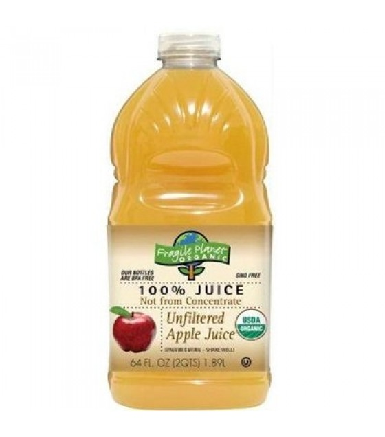 [Fragile Planet Organic] Juice Unfiltered, Apple  At least 95% Organic
