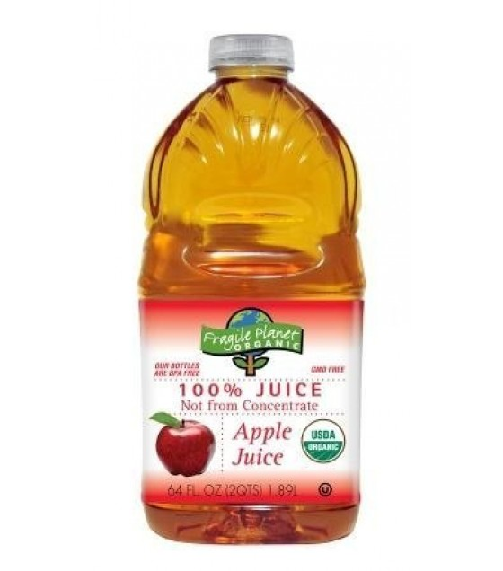[Fragile Planet Organic] Juice Filtered, Apple  At least 95% Organic