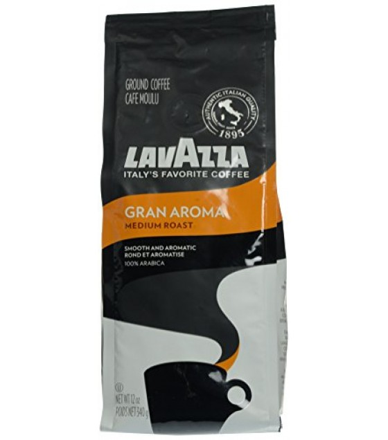 [Lavazza Premium Coffee] Natural Coffee/Cocoa Gran Aroma, Ground