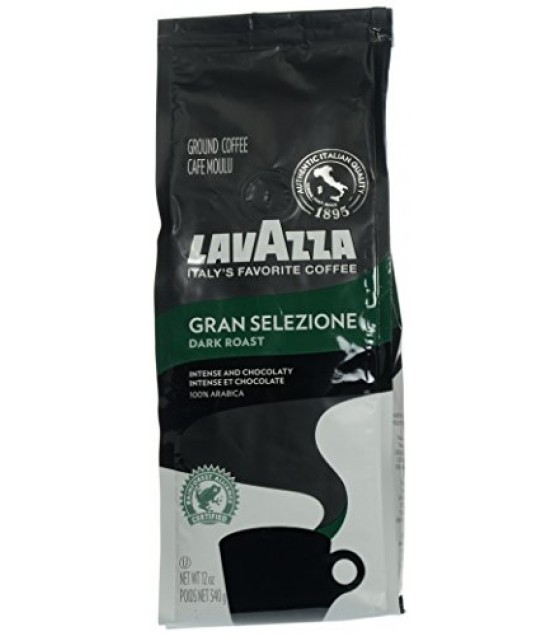 [Lavazza Premium Coffee] Natural Coffee/Cocoa Gran Selezione, Ground