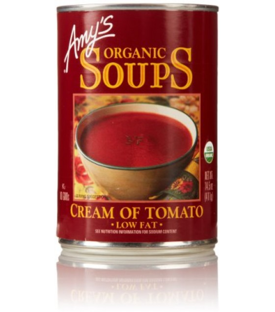 [Amy`S] Soups Cream Of Tomato  At least 95% Organic