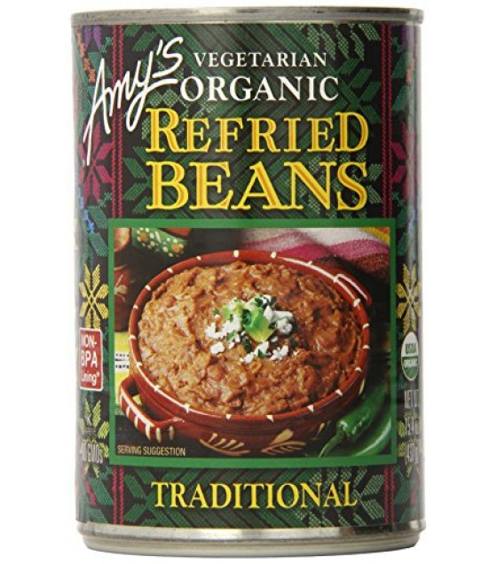 [Amy`S] Beans Refried Pintos  At least 95% Organic