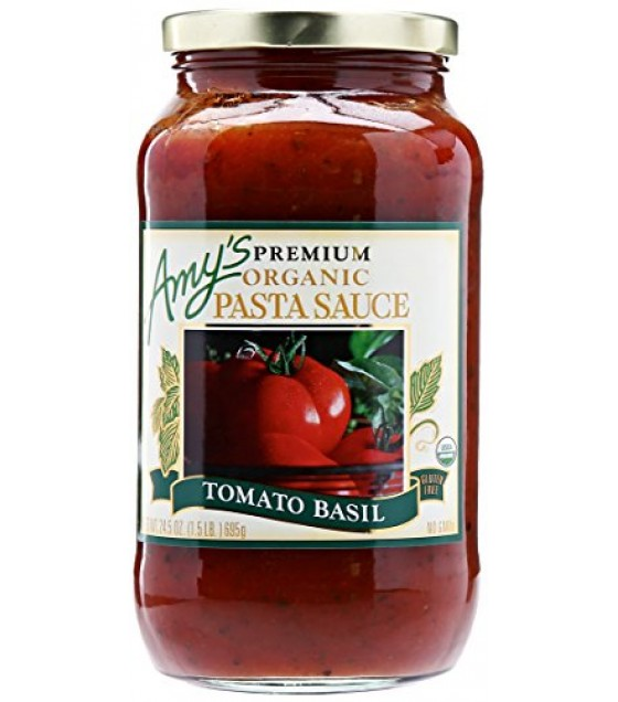 [Amy`S] Pasta Sauces Tomato Basil  At least 95% Organic