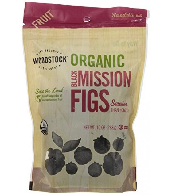 [Woodstock] Dried/Canned Fruits/Vegetables Figs, Black Mission  At least 95% Organic