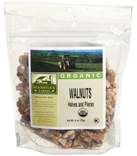 [Woodstock] Commodities Walnuts, Halves & Pieces  At least 95% Organic