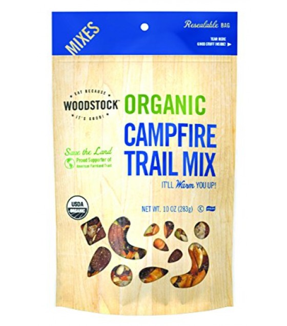 [Woodstock] Trail & Snack Mixes Campfire Trail Mix  100% Organic