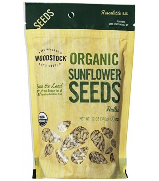 [Woodstock] Commodities Sunflower Seeds, Hulled  100% Organic