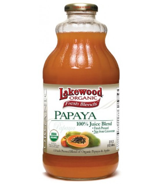 [Lakewood] Juices Papaya  At least 95% Organic