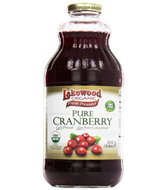 [Lakewood] Juices Cranberry, Pure  At least 95% Organic