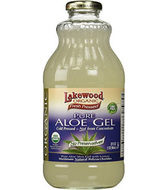 [Lakewood] Aloe Products Pure Aloe Vera Gel  At least 95% Organic