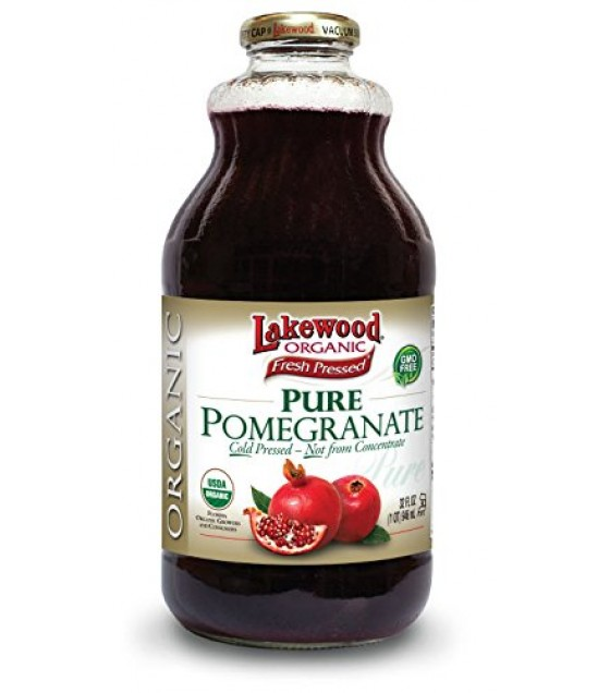 [Lakewood] Juices Pomegranate, Pure  At least 95% Organic