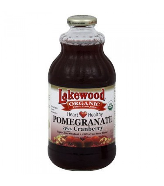 [Lakewood] Smart Healthy Juice Pomegranate Cranberry  At least 95% Organic