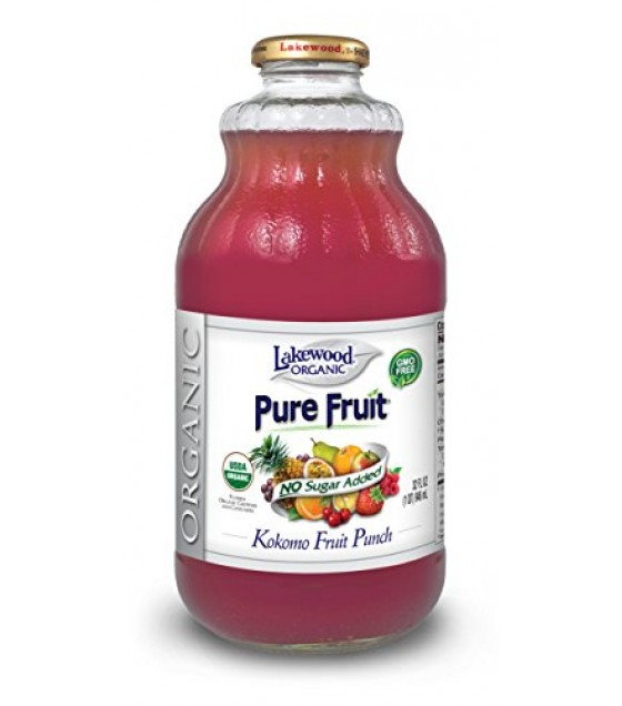 [Lakewood] Juices Fruit Punch, Pure  At least 95% Organic