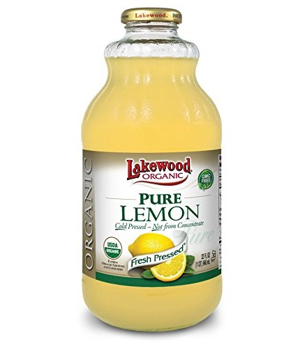[Lakewood] Juices Lemon, Pure  At least 95% Organic