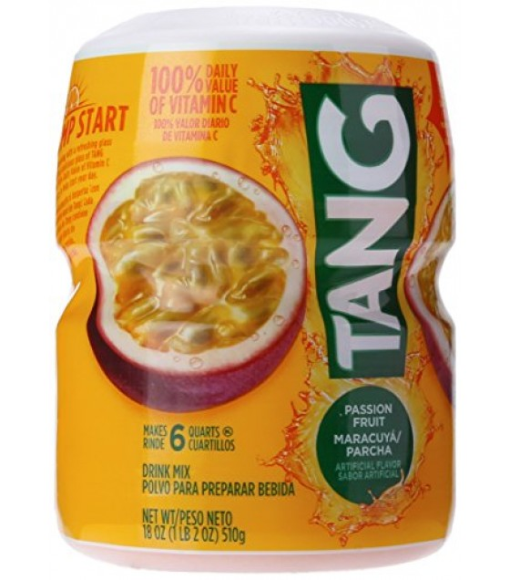 [Tang] Drink Mix Passion Fruit, Powder