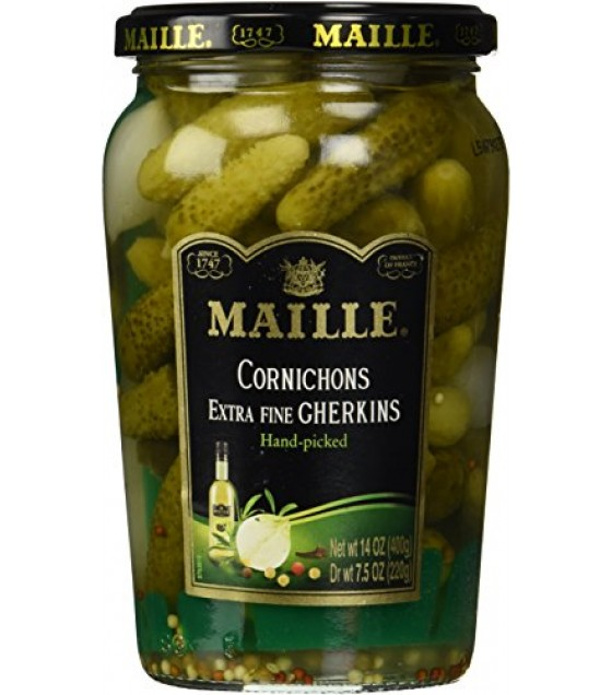 [Maille] Pickle/Pepper/Relish Pickled Specialty Cornichons