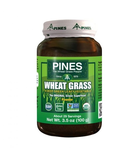 [Pines, Int`L] Green Energy 100% Wheat Grass Powder  At least 95% Organic