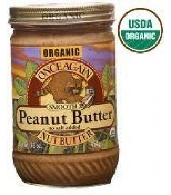 [Once Again] Nut Butters Peanut Butter, Creamy, No Salt  At least 95% Organic