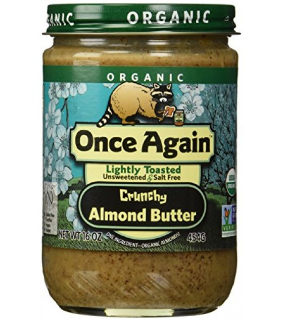 [Once Again] Nut Butters Almond, Lightly Toasted, Crunchy  100% Organic